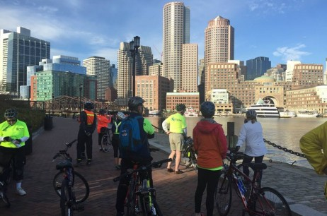 Bike to Work Day: Quincy to Boston Convoy